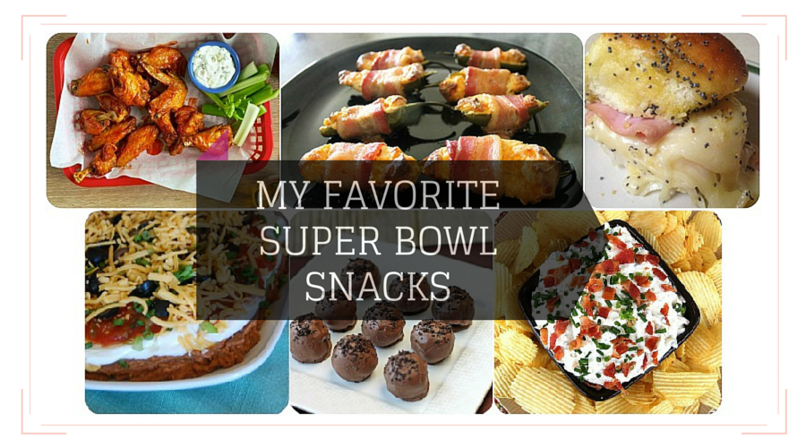 My Favorite Super Bowl Snacks - Pretty Loved