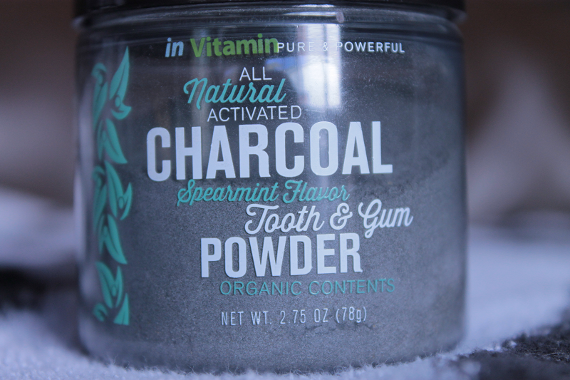All Natural Activated Charcoal Spearmint Flavor Tooth and Gum Powder