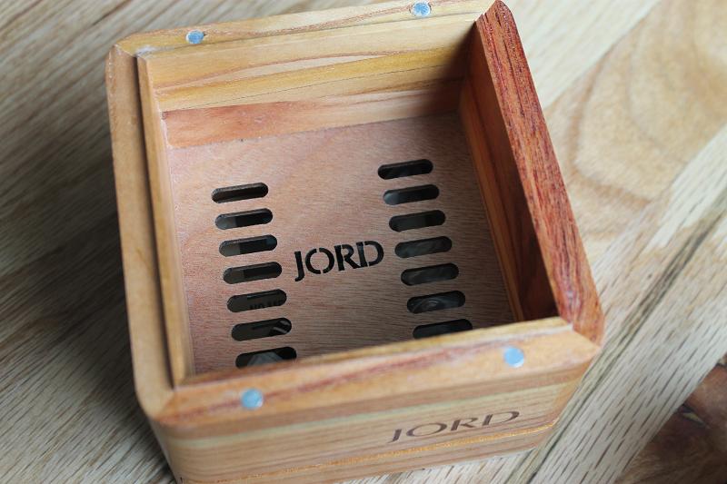 JORD watch box inside