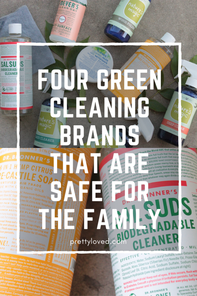 four green cleaning brands that are safe for the family pin