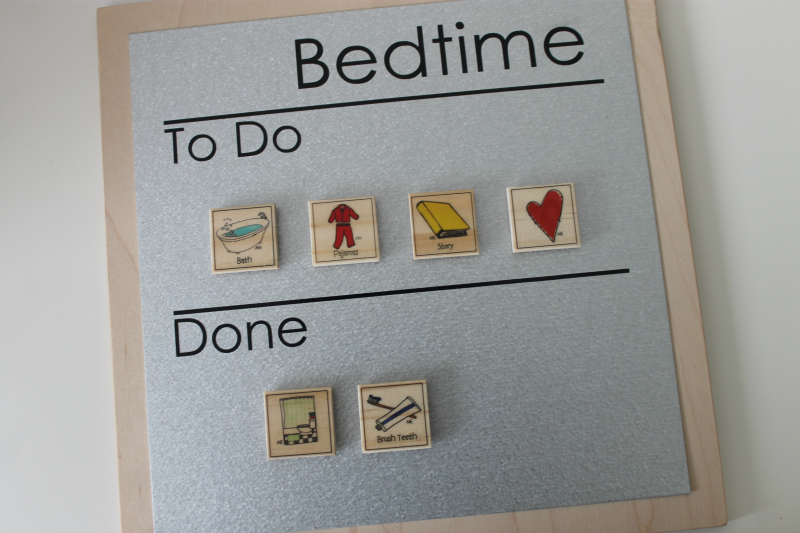 Bed Time Chore List