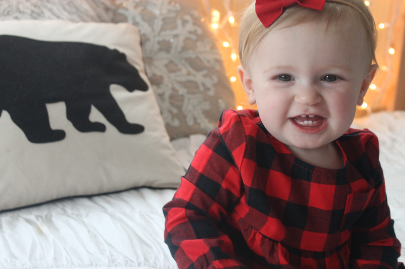 Carter's Red Plaid Top