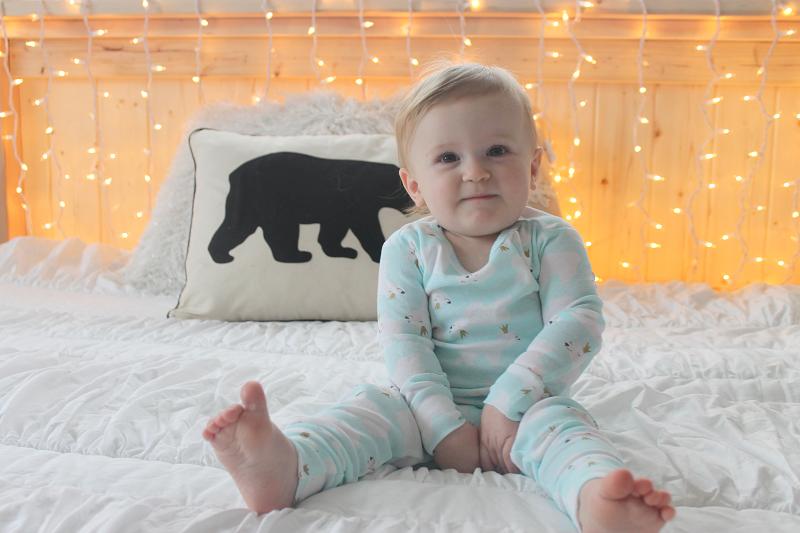 Carter's Polar Bear Pajamas