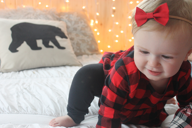 Carter's Red Plaid Outfit