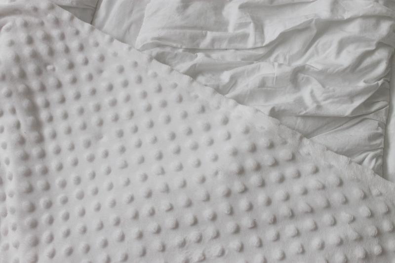 Beddy's Bedding Closeup of Minky Inside