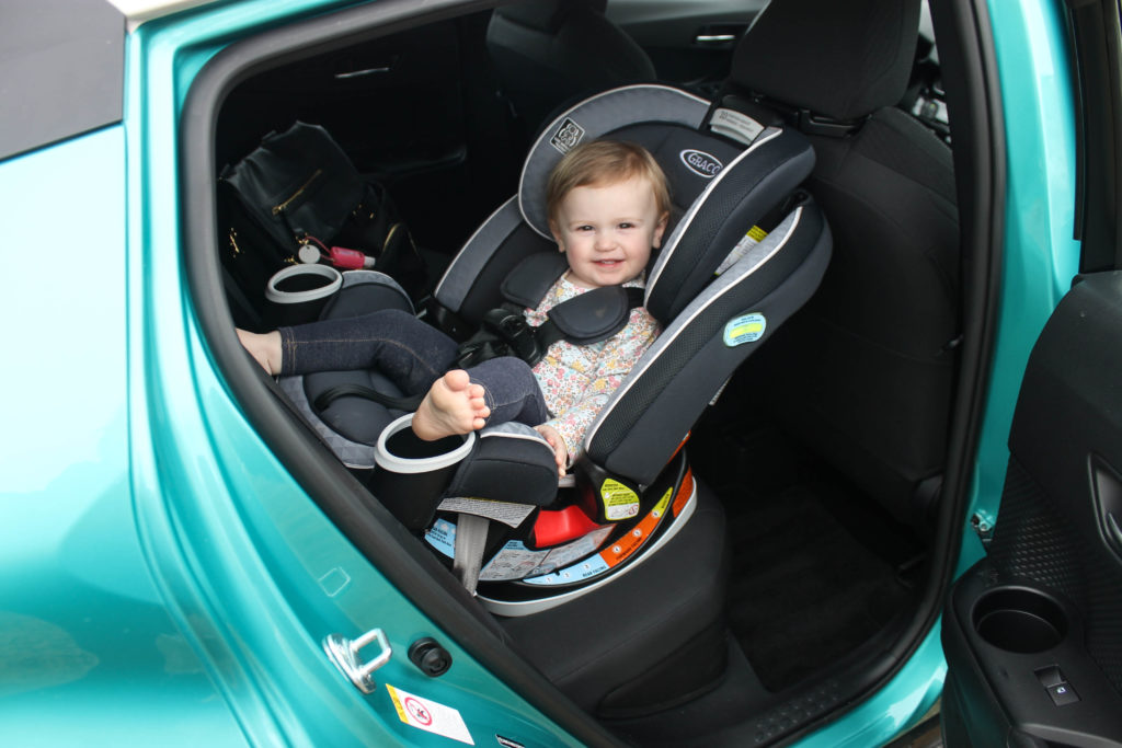 2018 Toyota C-HR XLE Back Seat and Child's Car Seat