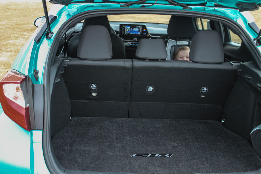 2018 Toyota C-HR XLE Interior and Trunk