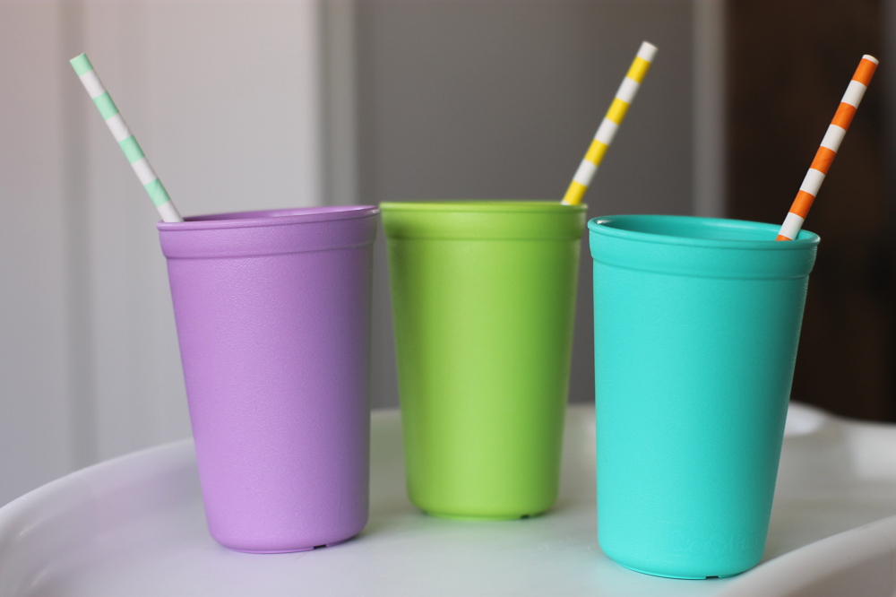 Re-Play Recycled Cups from Sorbet Collection