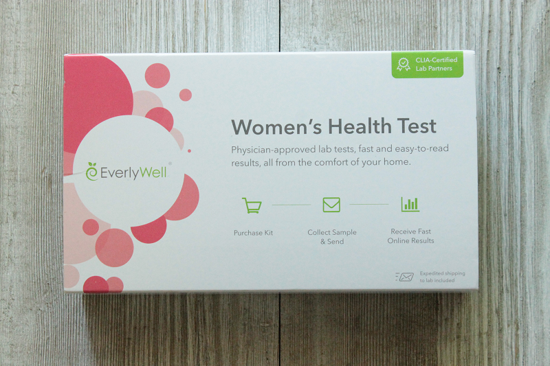 Women's Health Test from EverlyWell | Review - Pretty Loved